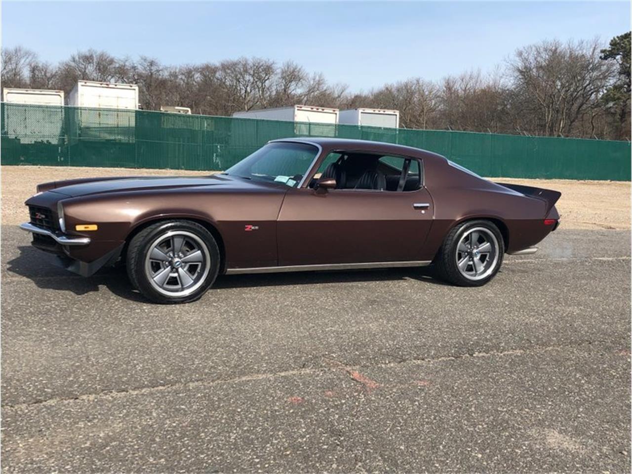 Dark Brown Metallic 1973 Chevrolet Camaro For Sale Listing Id