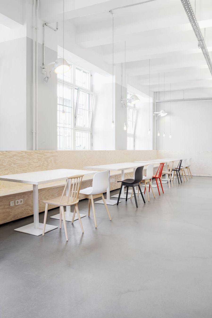 zalando - berlin - industrial - industriel - canteen - kantine ...