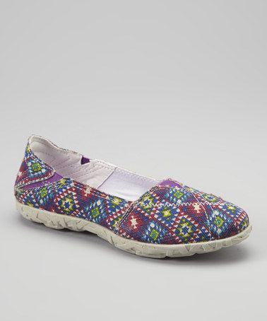 Take a look at this Tribal Purple Hellyer Slip-On Sneaker - Women by Cushe on #zulily today!