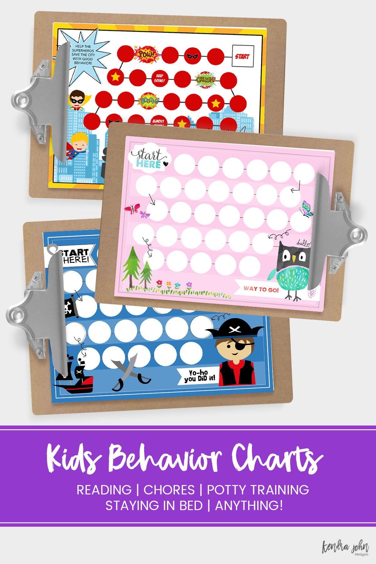 The Best Kids Behavior Charts To Help Them Start A New