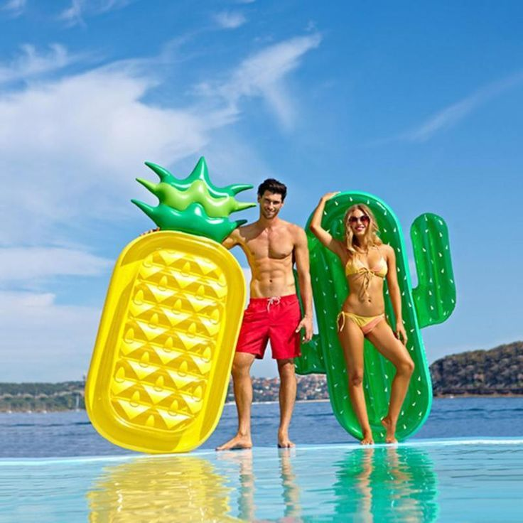 12 style Summer Inflatable Giant Swim Pool Floats Raft Air ...