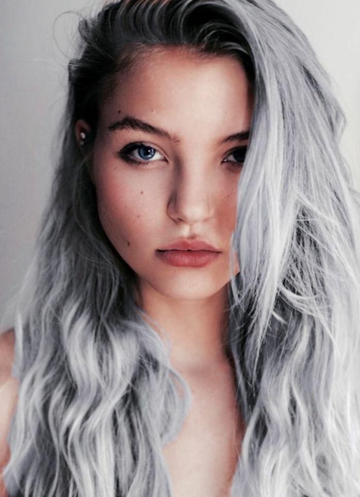 Épinglé par Madame.tn sur Shopping Cheveux gris
