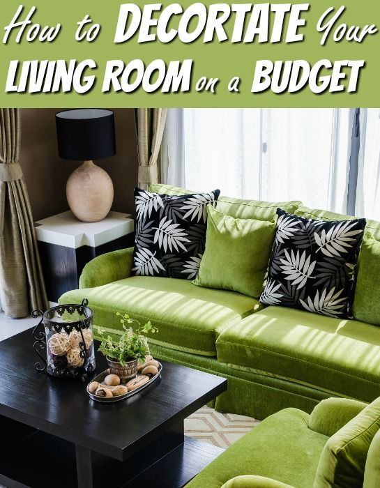 family room decorating ideas tips and tricks | Living Room Decorating Ideas on a Budget | MONEY $ | Tips ...