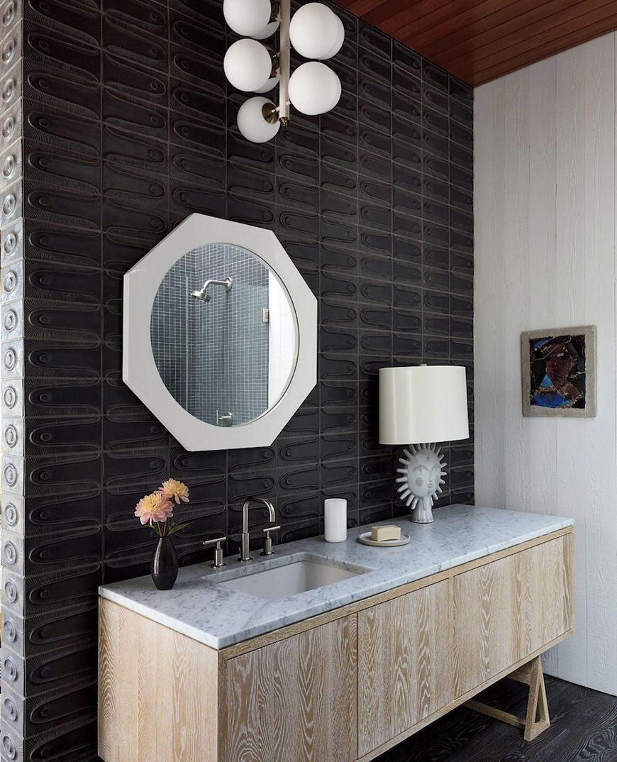Charmant Contemporary Bathroom Design Idea By Jonathan Adler And Gray Organschi  Architecture In Shelter Island, New