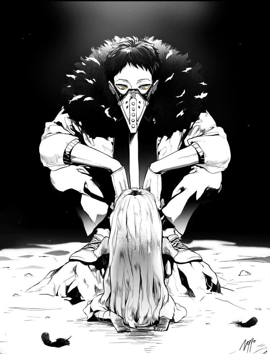 오버홀×에리 남자 그림, 일러스트레이션, 애니메이션