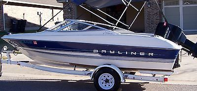 boats: VERY NICE!!! BAYLINER 1700 CAPRI LS, 120HP FORCE