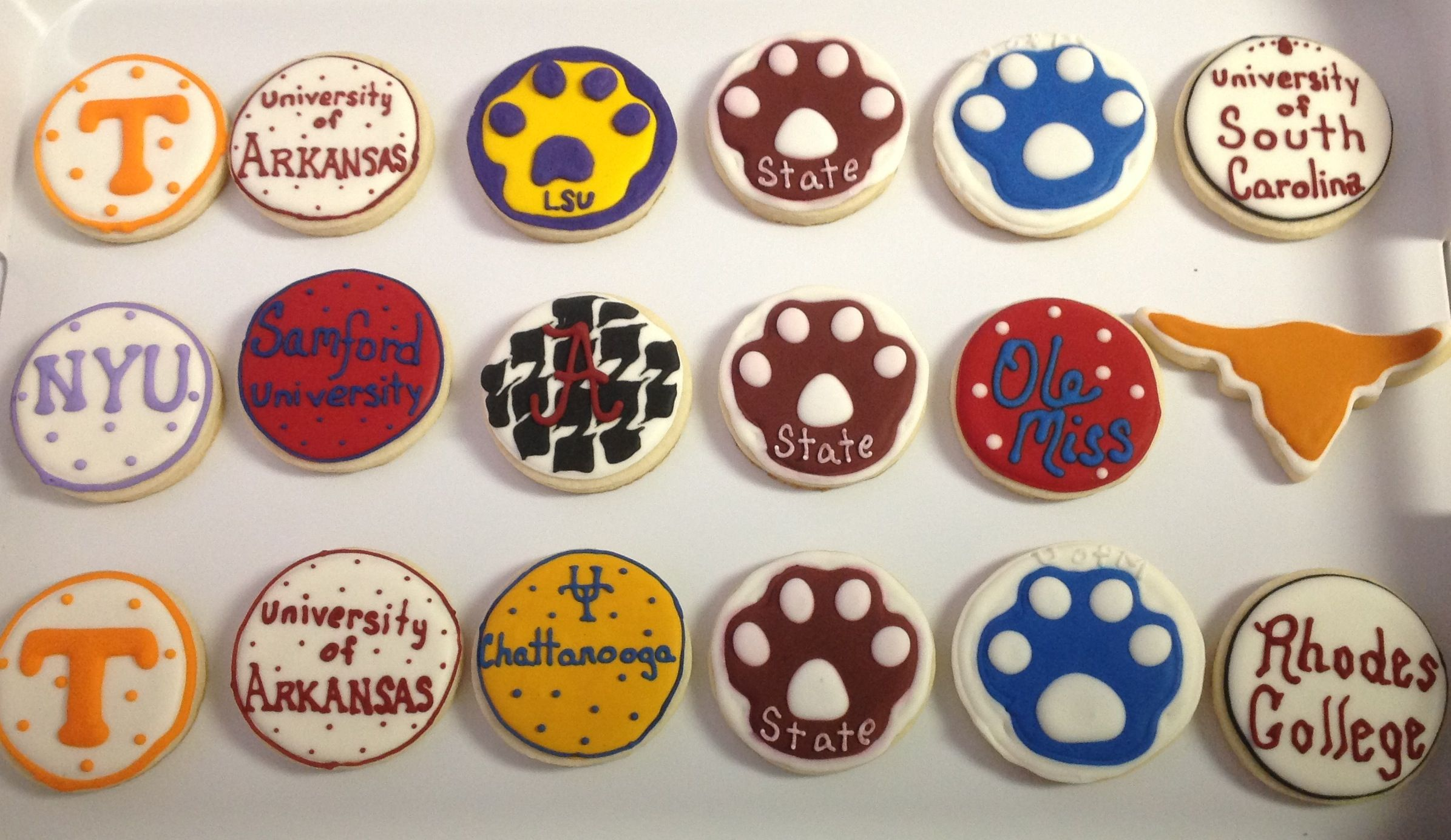Oh the Places Youll Go Graduation Cookies College Cookies