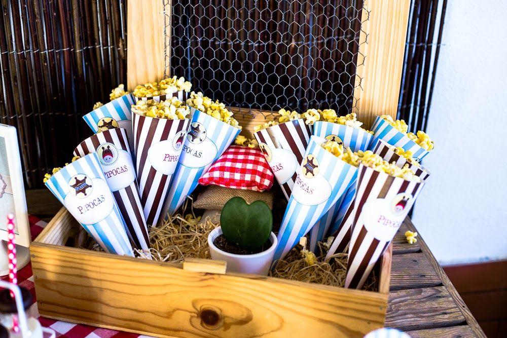 Socorro! Sou mãe...: Os 3 anos do (cow)boy: Party Printables Cowboy by Kids&Babies Design (cones para pipocas) - Foto: Crush