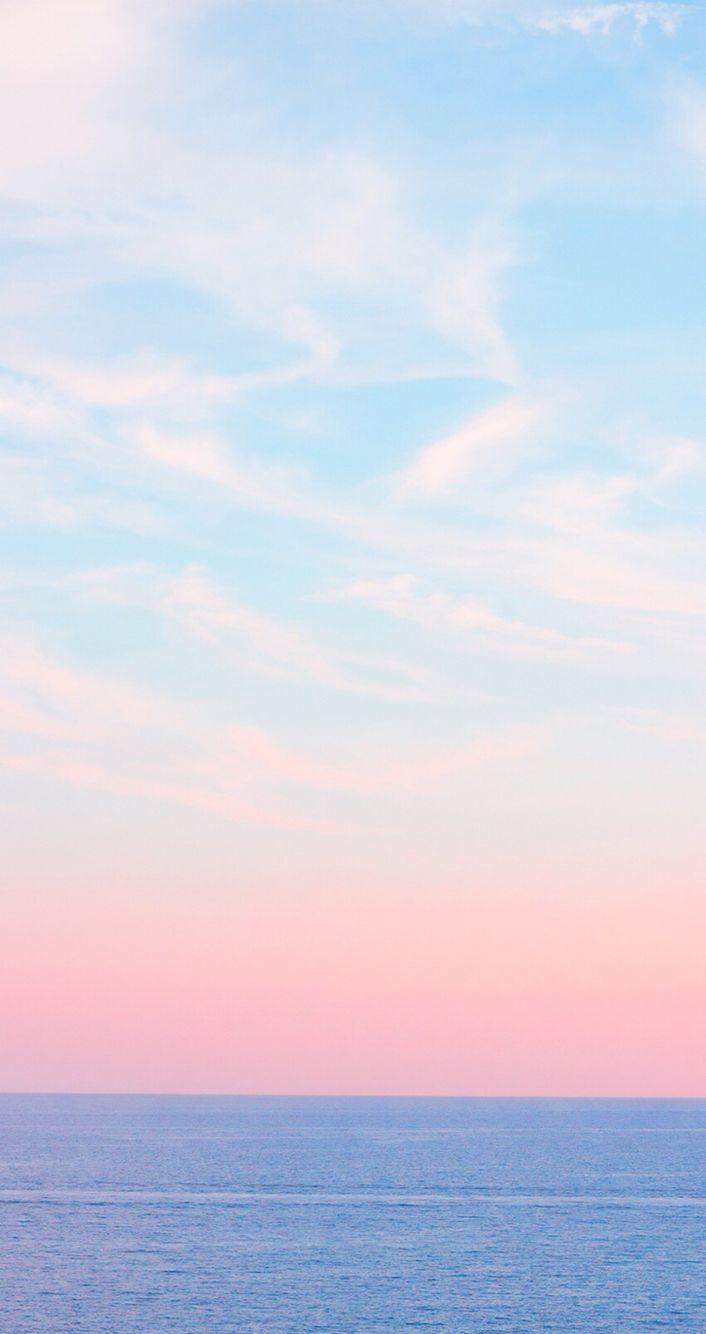 パステルの空 sherbet color