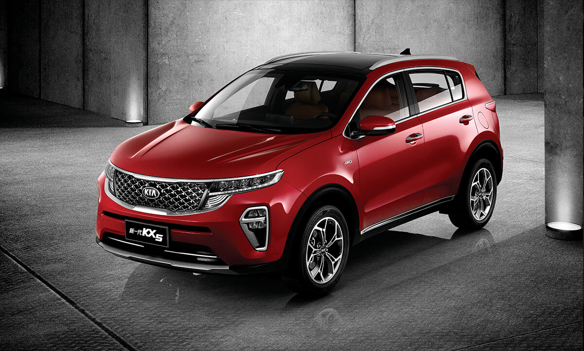 Kia Kx5 Compact Suv China S Sportage With A More Serious Face Carmojo The New China Only Kia Kx5 Sports Fresh Looks And A New Compact Suv Kia Sportage