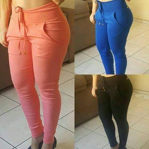 Resultado de imagem para calça ribana Blusa De Moleton Feminina f5b81f9ef03