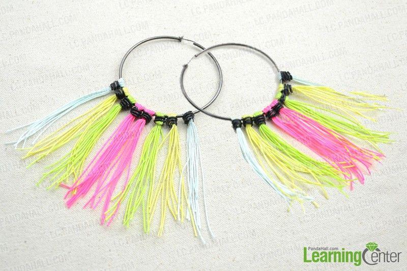 Simple Jewelry Making Ideas-One of a Kind Hoop Earring - Pandahall.com