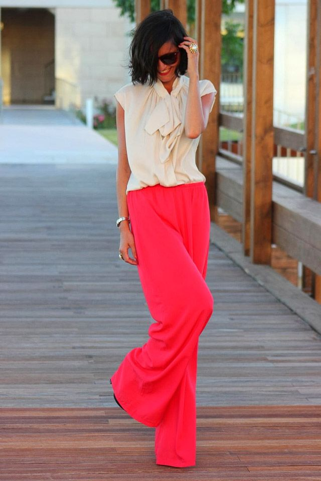 Photo of invitada boda blog pantalón pantalones palazzo culotte look wedding
