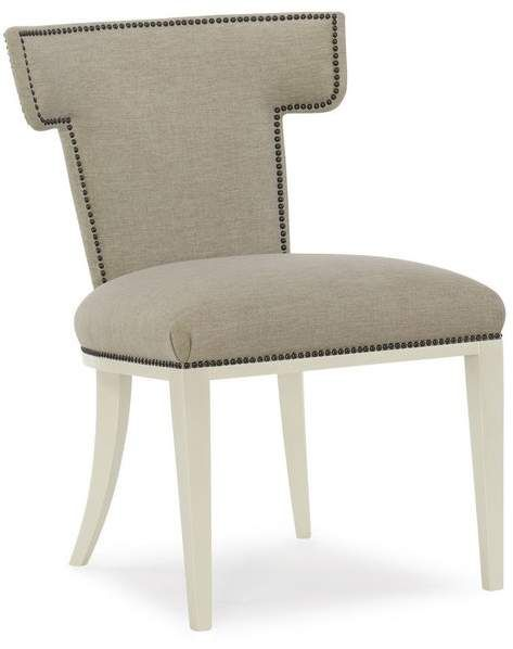 Astounding Caracole Modern Klismos Upholstered Dining Chair Set Of 2 Unemploymentrelief Wooden Chair Designs For Living Room Unemploymentrelieforg