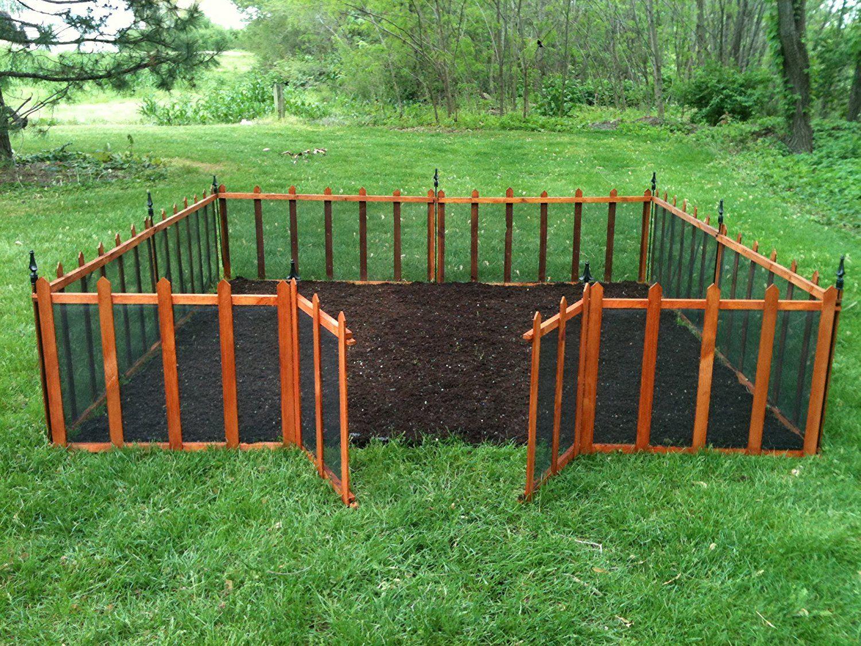 Amazon Terra Garden Fence Gf 4 Protect Amp Beautify