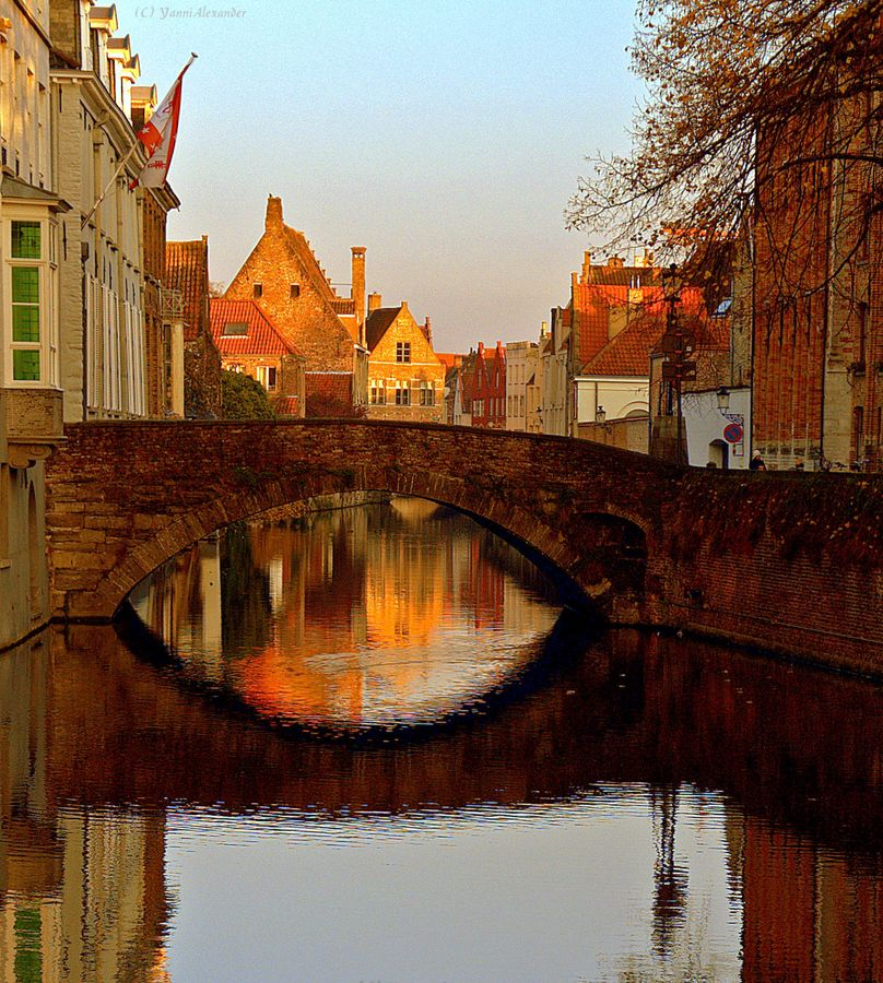 Good Places To Travel November: Bruges. Going Here Instead Of Luxembourg