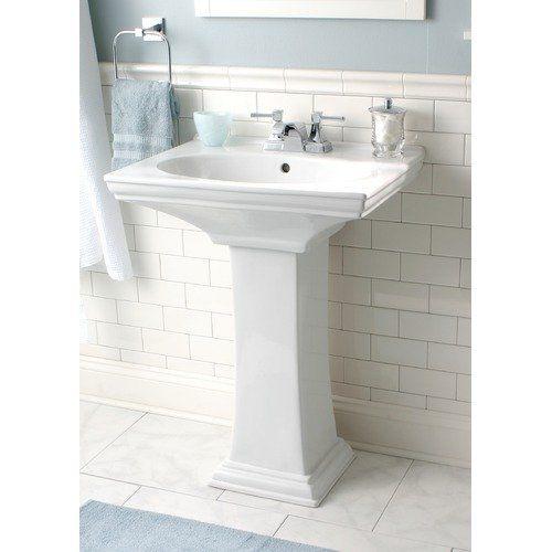 Walmart Premier Faucet Union Square Pedestal Sink Pedestal Sink
