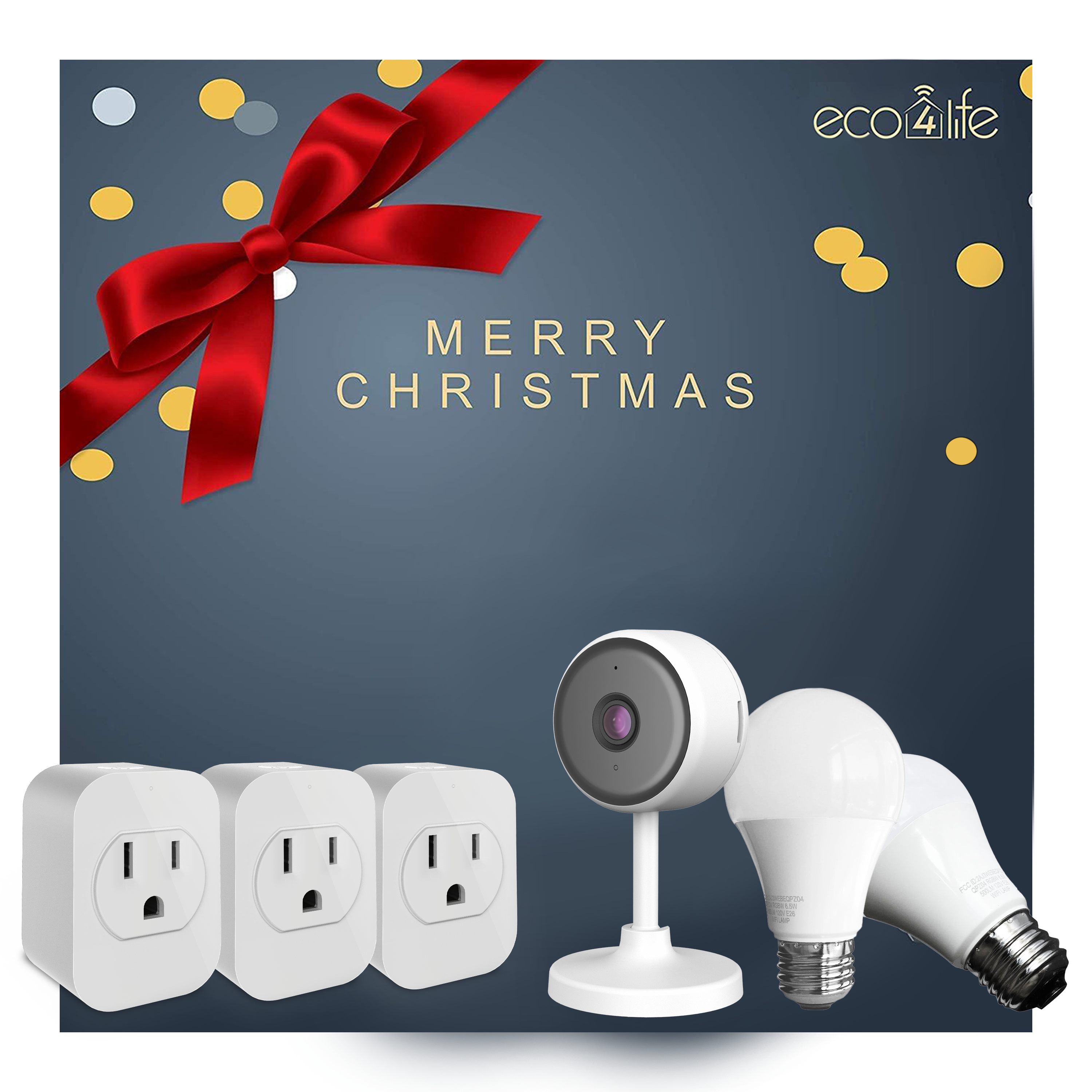 6 Piece Home Security and Wi-Fi Smart Home Gift set - Value Pack