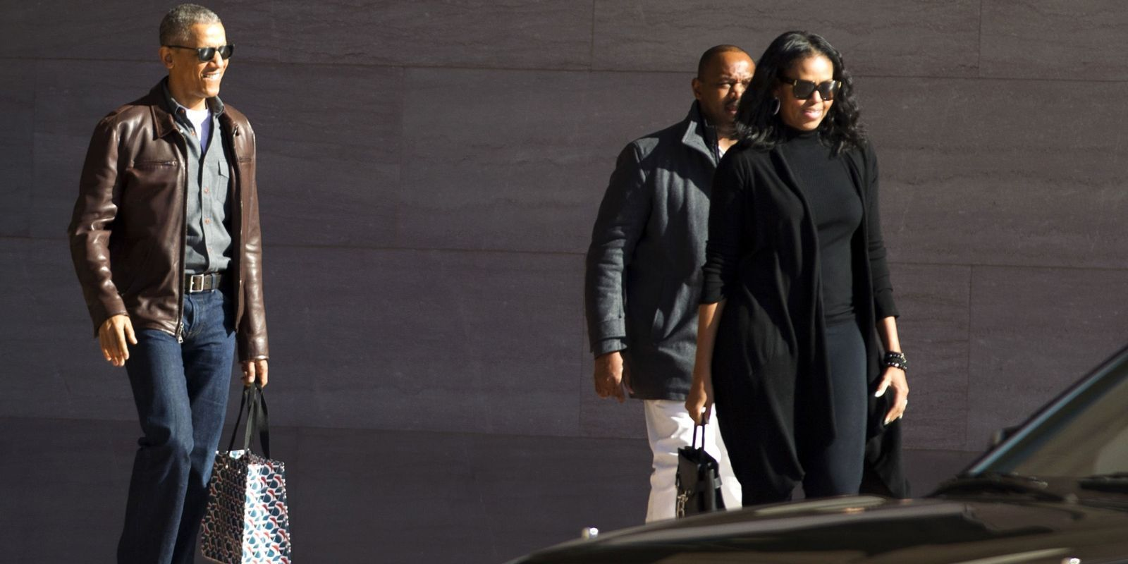 Leather Jackets, Packed Lunches, and More Details on How the Obamas Are Making the Most of Post-Presidency Life