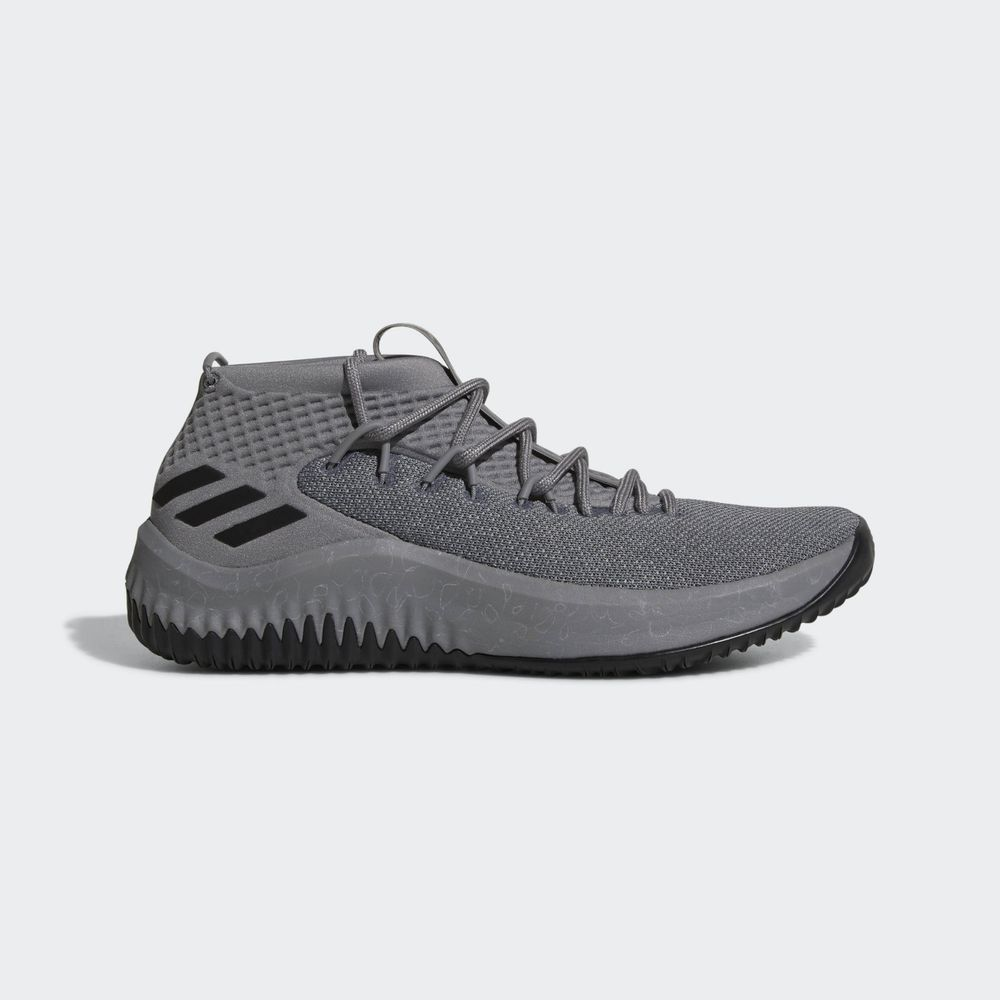 Grey Black Lillard Basketball Sneaker
