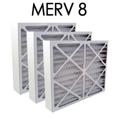 18x24x4 merv 8 pleated air filter 3pk 17.375x23.375x3.625 - actual ...