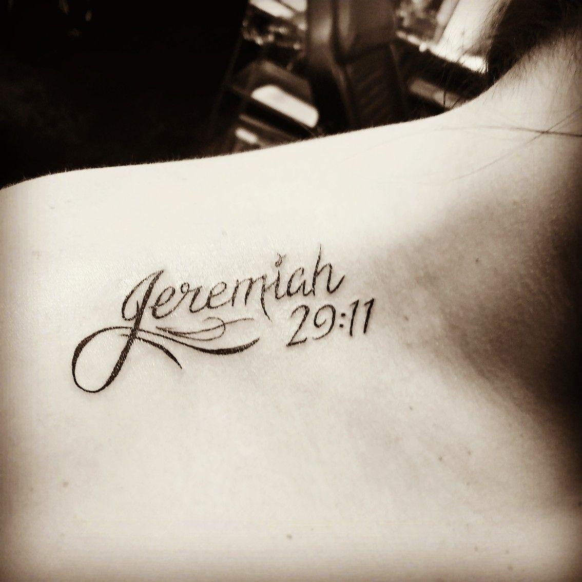 Jeremiah 2911 Tattoo Shoulder Ink Tattoos Shoulder Tattoo