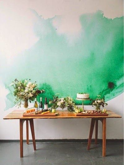 Hervorragend 48 Eye-Catching Wall Murals to Buy or DIY | Watercolor walls  KO08
