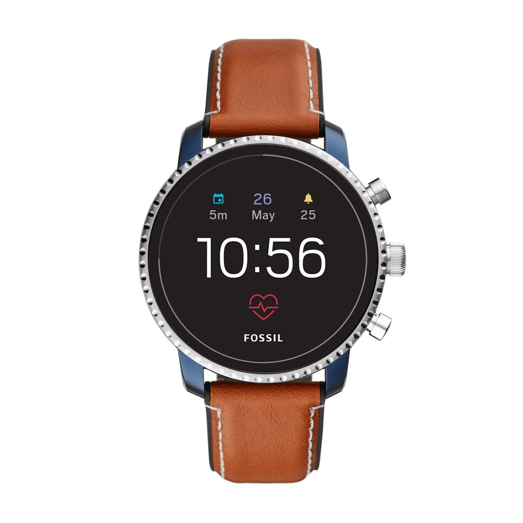 REFURBISHED Gen 4 Smartwatch Explorist HR Tan Leather