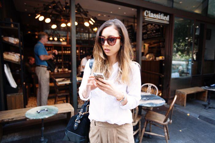 a866ba897d7 Céline Audrey sunglasses in tortoiseshell