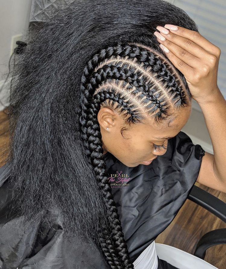 Truubeautys In 2019 Braided Hairstyles Natural Hair Styles