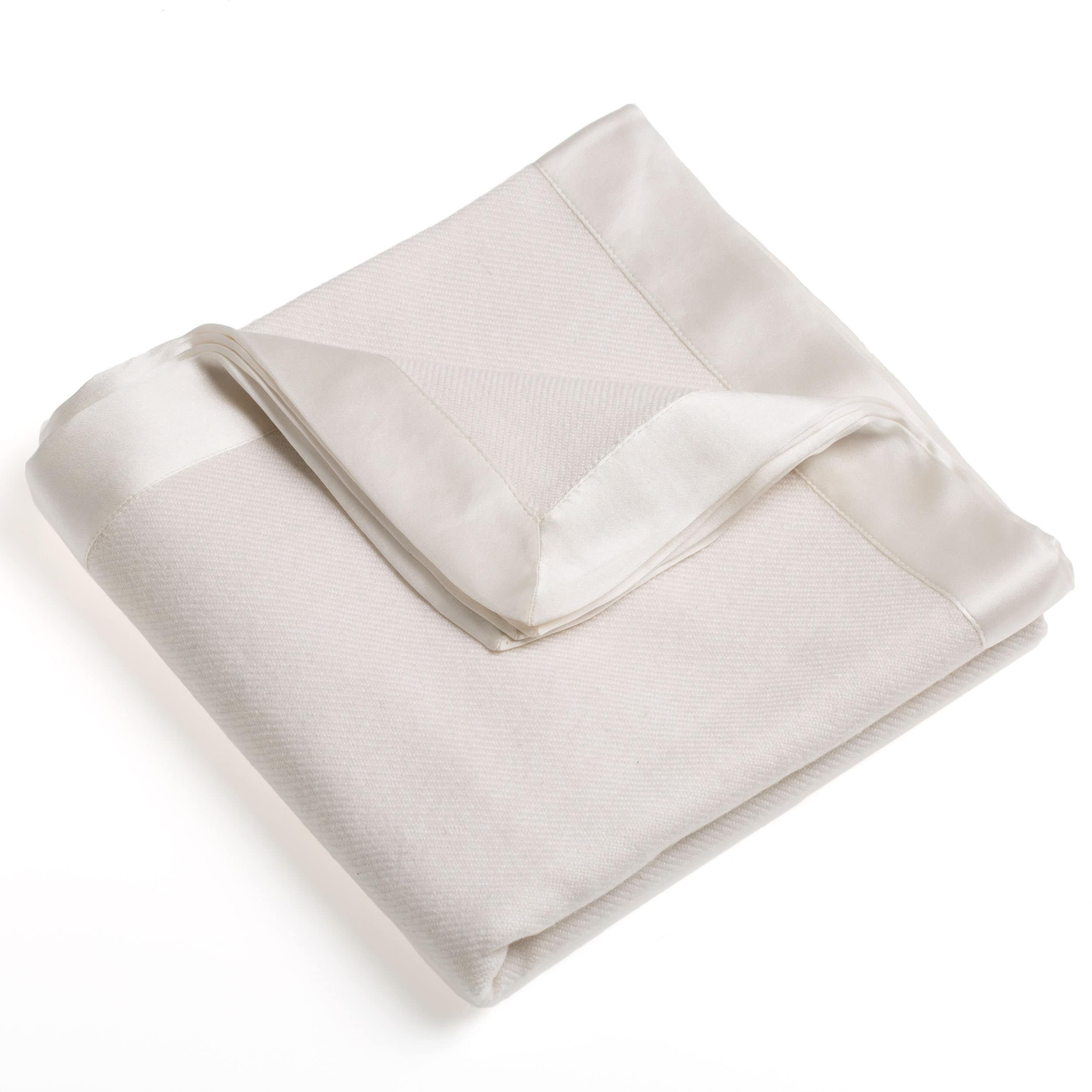 Himalaya Trading Classic 100 Percent Cashmere Baby Blanket Sky