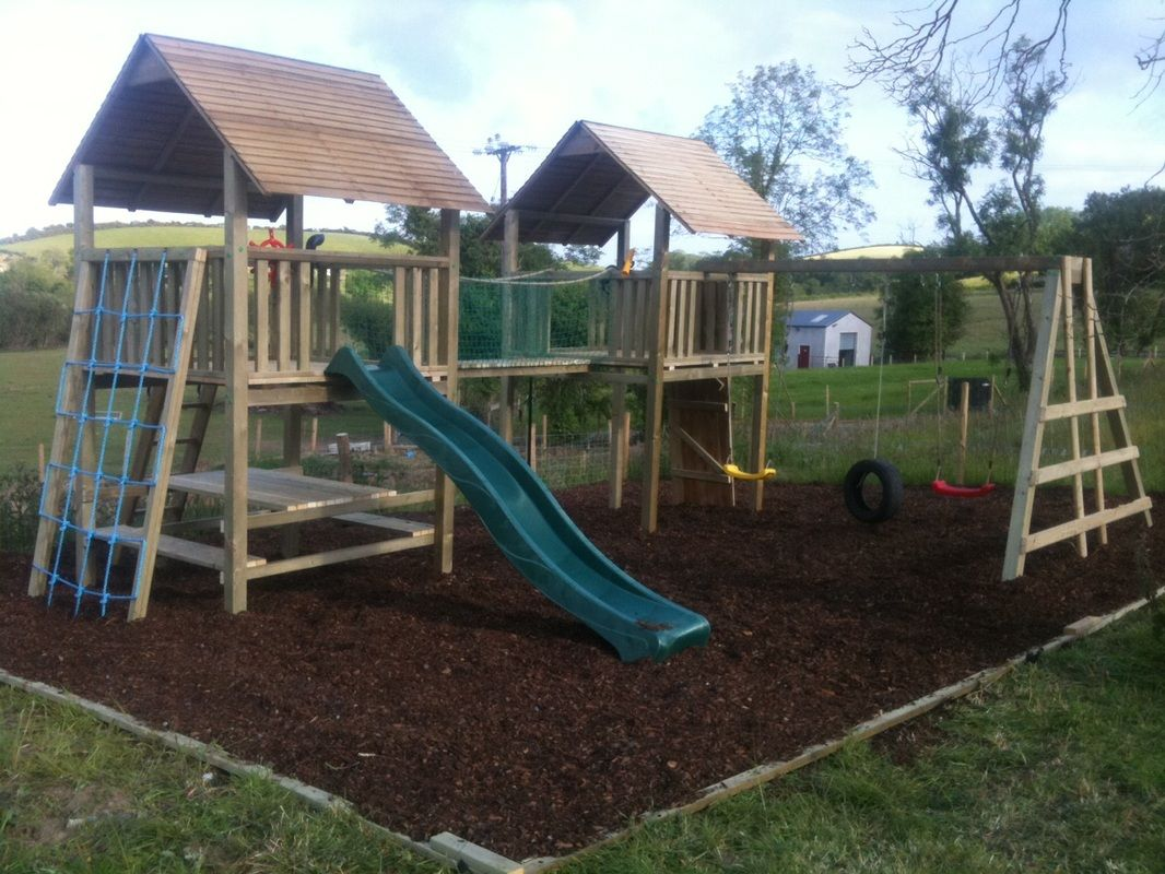 Maybe this garden pinterest kids play area climbing frames