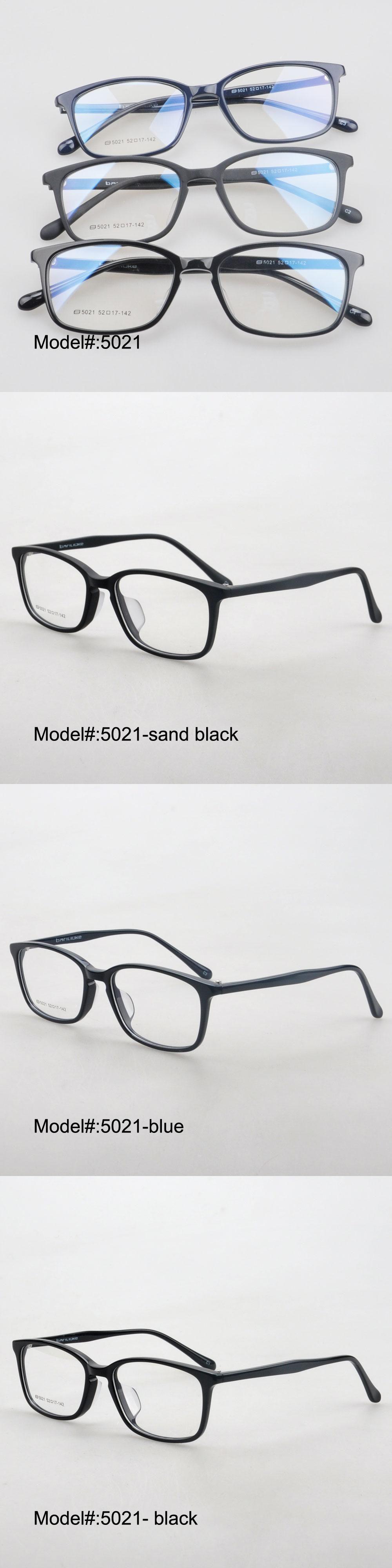 MY DOLI 5021 full rim unisex acetate RX optical frames myopia ...