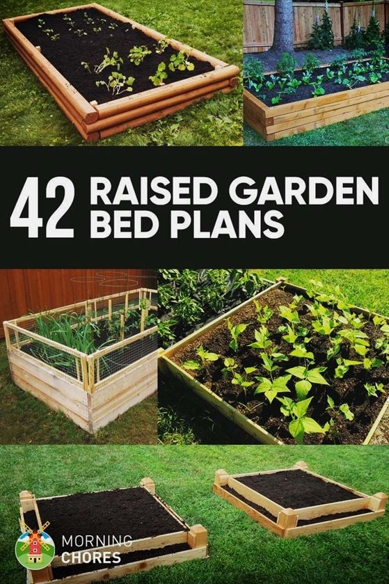 59 DIY Raised Garden Bed Plans & Ideas You Can Build in a Day #diyraisedgardenbeds