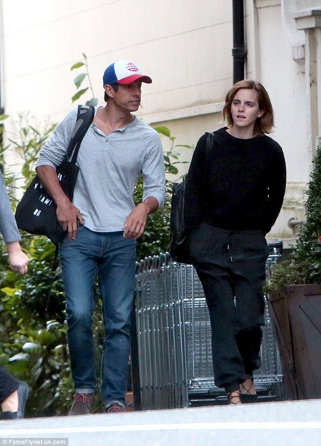 Emma Watson Enjoys Low Key Day Out In London With Beau William