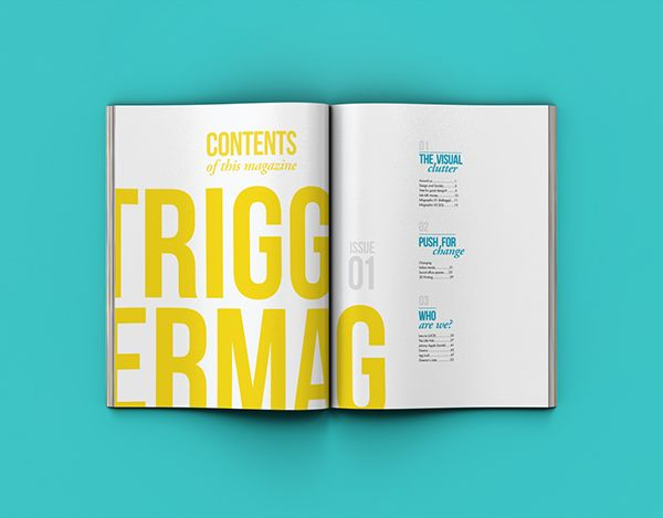 TRIGGER MAGAZINE on Behance