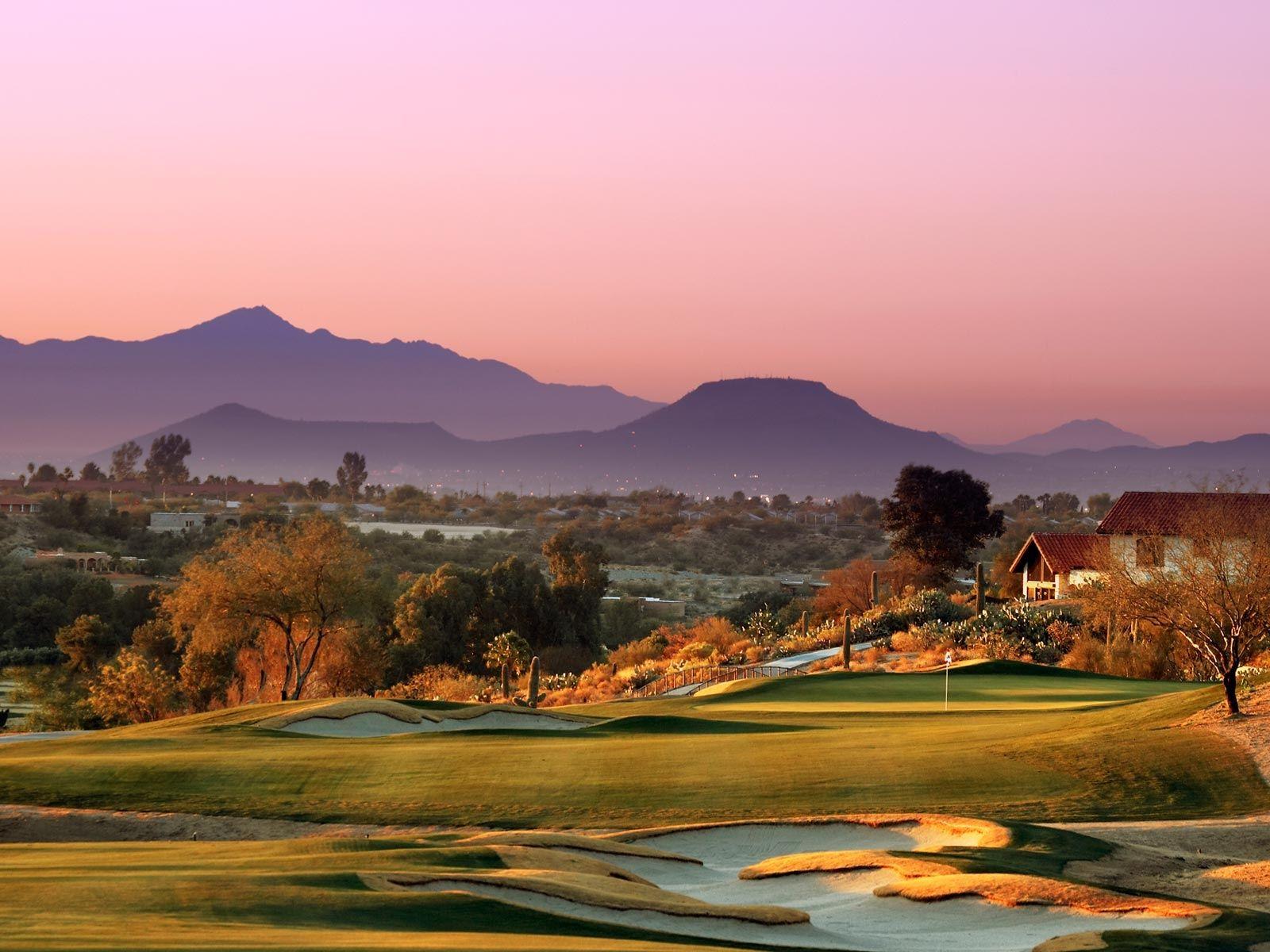 Beautiful Golf Course High Definition Wallpaper Golf Courses Golf Resort Tucson Resorts