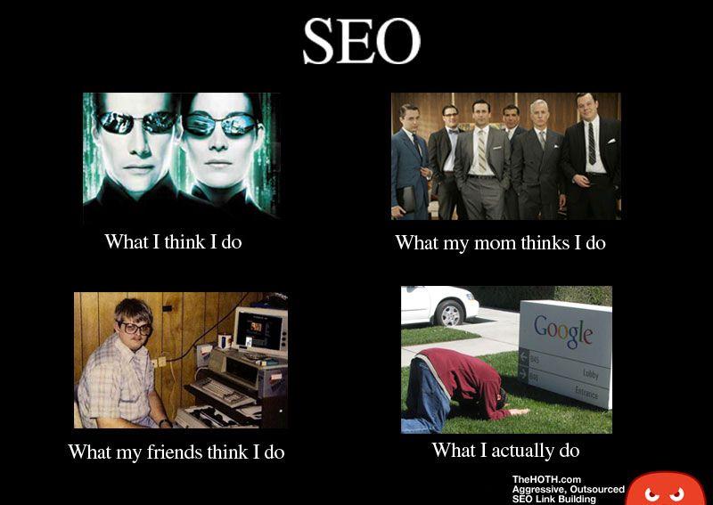 Seo What I Think I Do Vs What I Really Do Graphic The Truth Marketing Meme Marketing Humor Social Media Humor