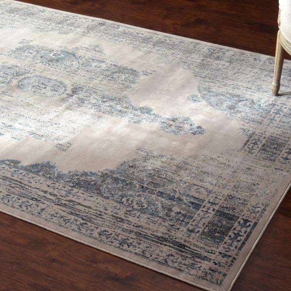 Nuloom Oriental Vintage Viscose Persian Ivory Area Rug 7 8 X 9 6