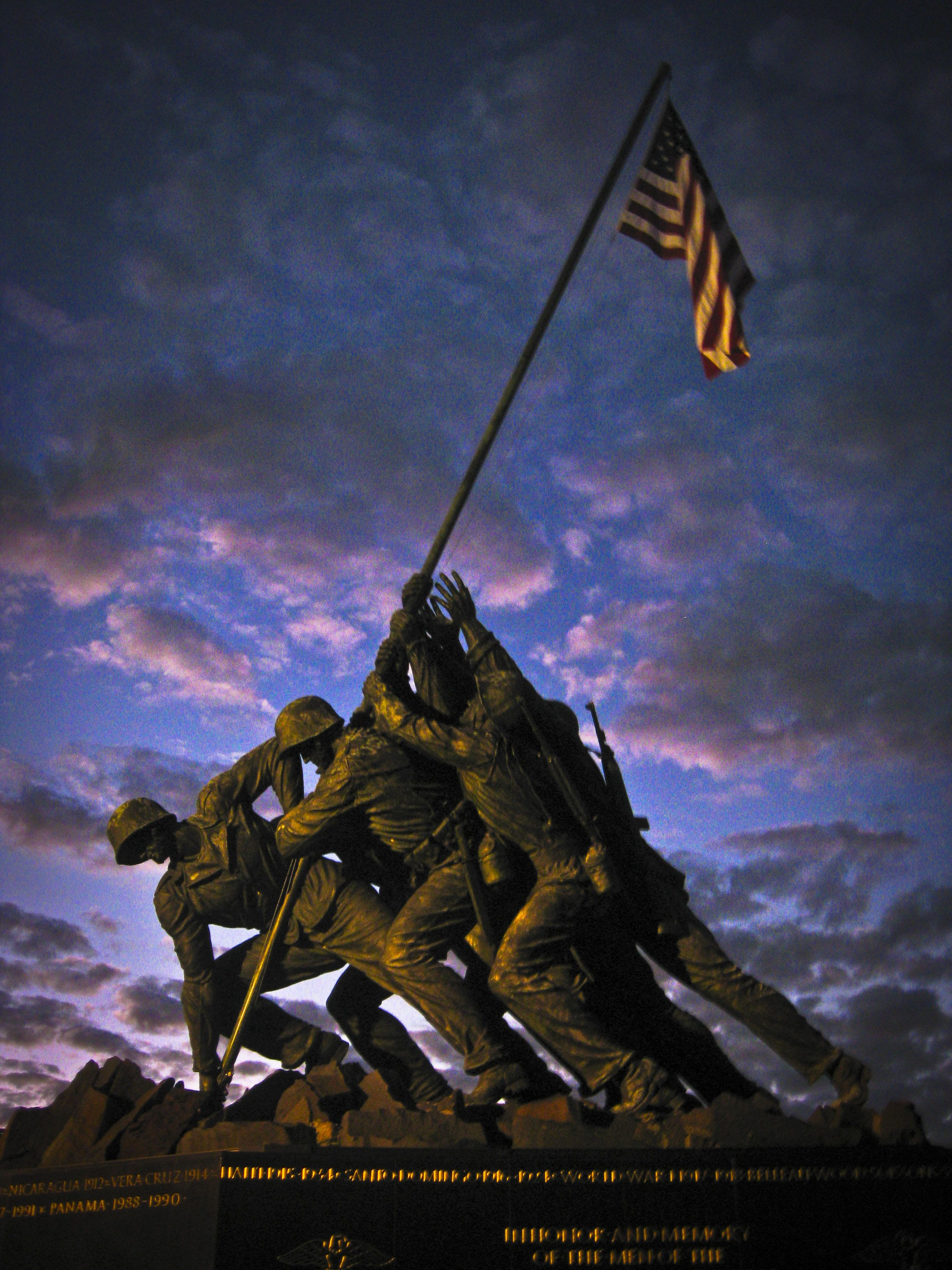 Us Marine Corps War Memorial (Iwo Jima)