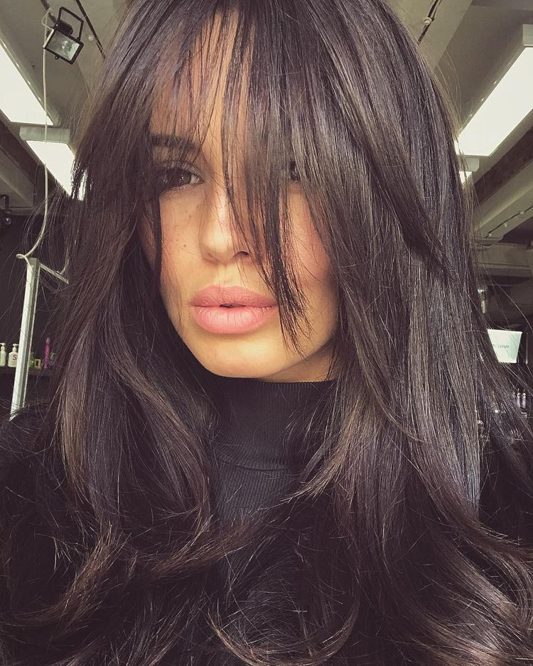 Pin By Ivelina Vasileva On Beauty Long Thin Hair Hair Styles Long Hair Styles