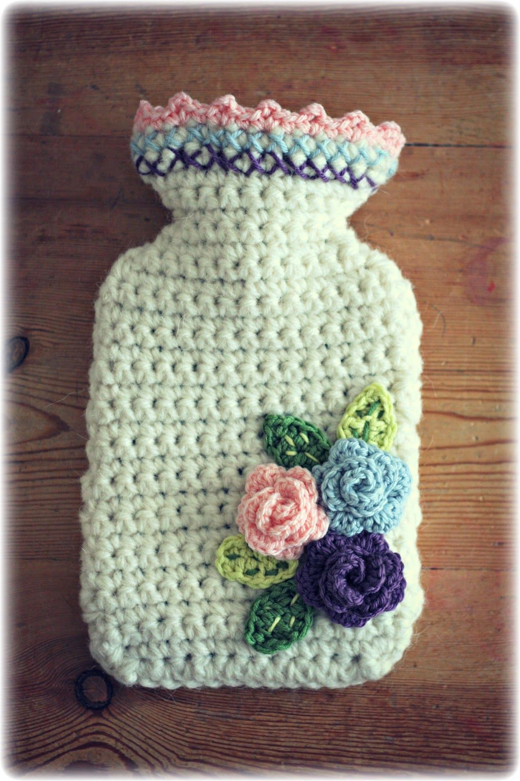 Coco Rose Diaries: Hot Water Bottle Cover Tutorial | crochet ...