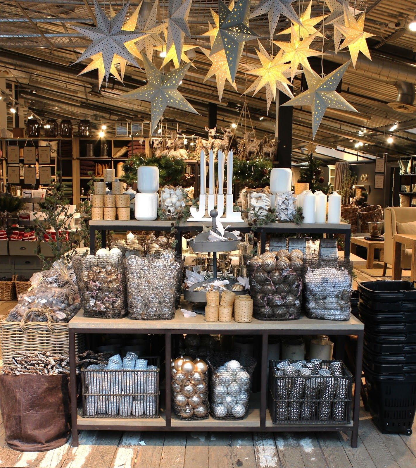 Blogg Home and Cottage Boutique display, Retail display