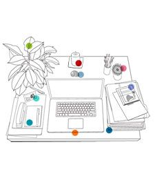 Feng shui your desk according to the chinese art of feng shui the state of your environment - Feng shui arbeitszimmer ...