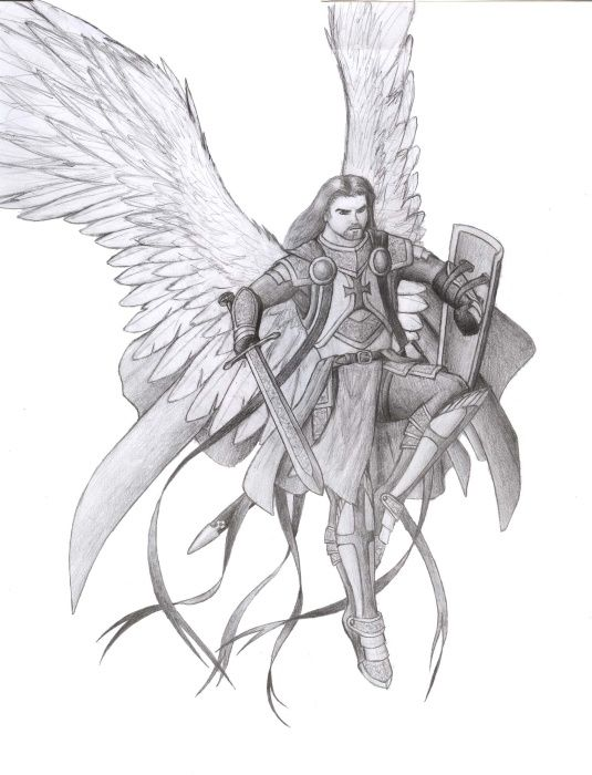 Michael Archangel Drawing Archangel by manveruon