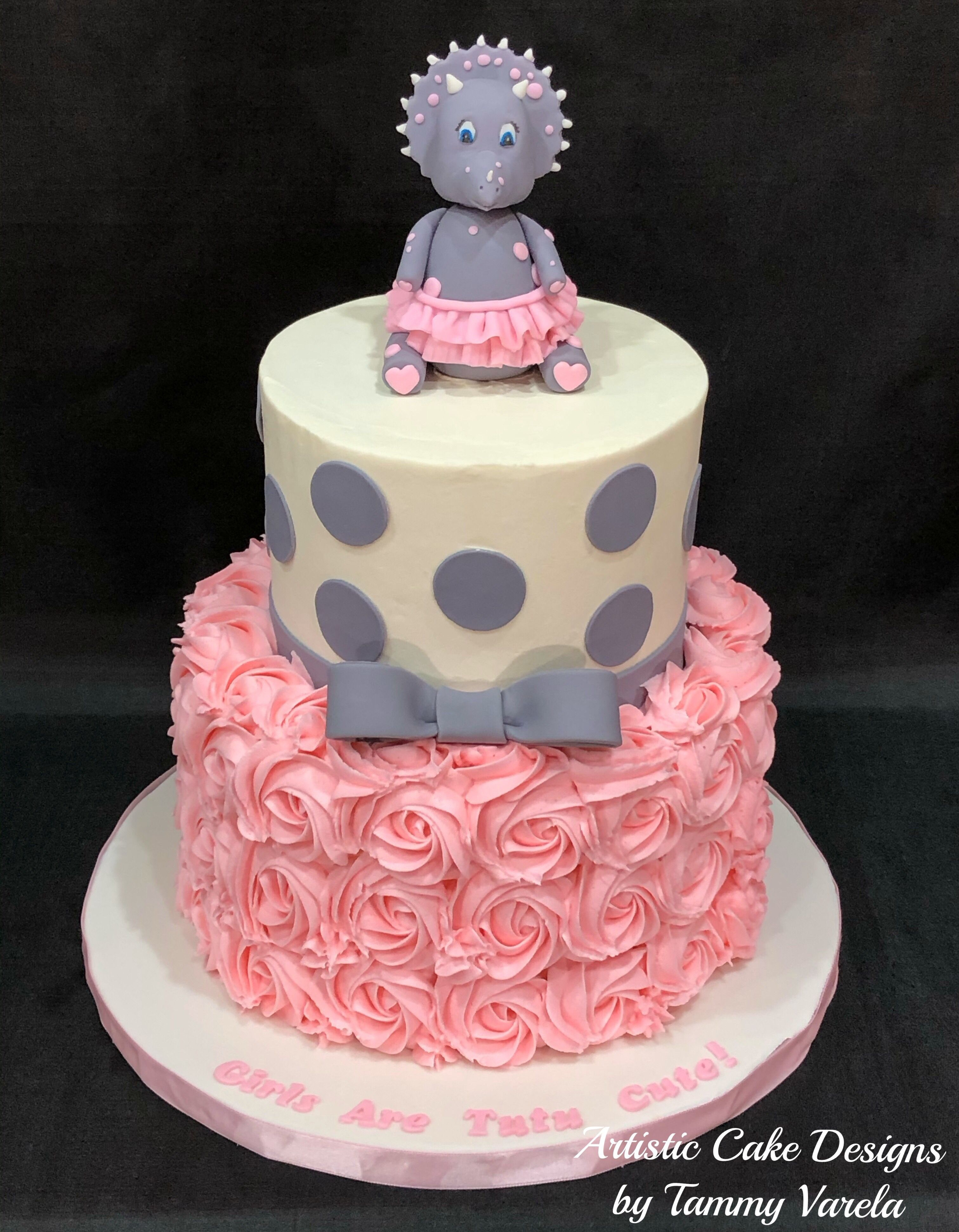This baby shower is for a girl and the theme is cute ...