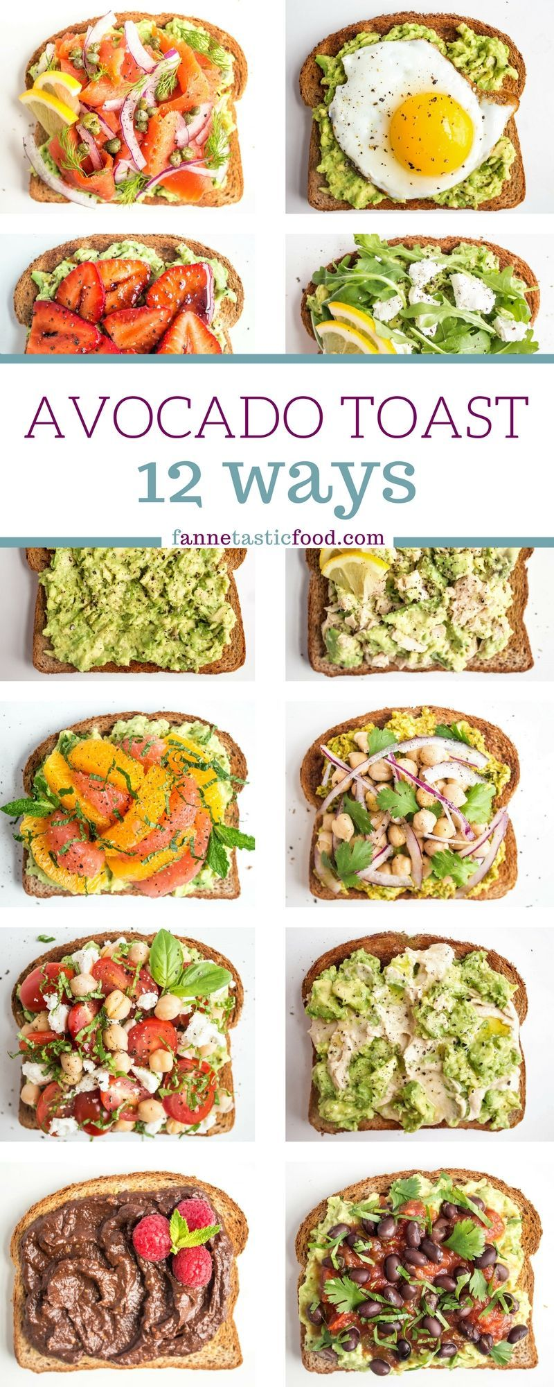 Photo of Avocado Toast Recipes | Easy and Fast Mix + Match Ideas