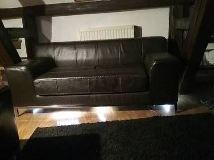 Kramfors Ikea Leder Couch In Bayern Naila Sessel Möbel