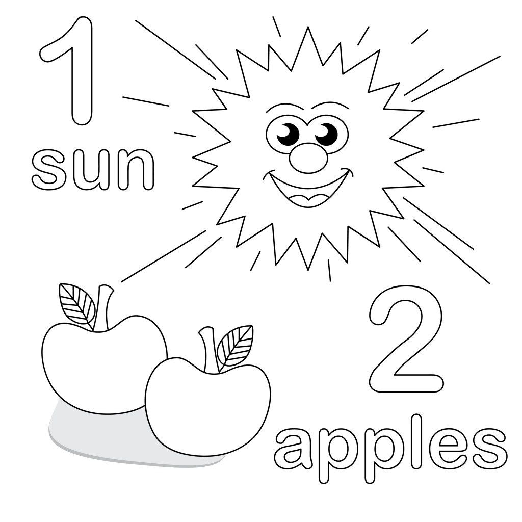 25 Great Image Of Number 1 Coloring Page With Images
