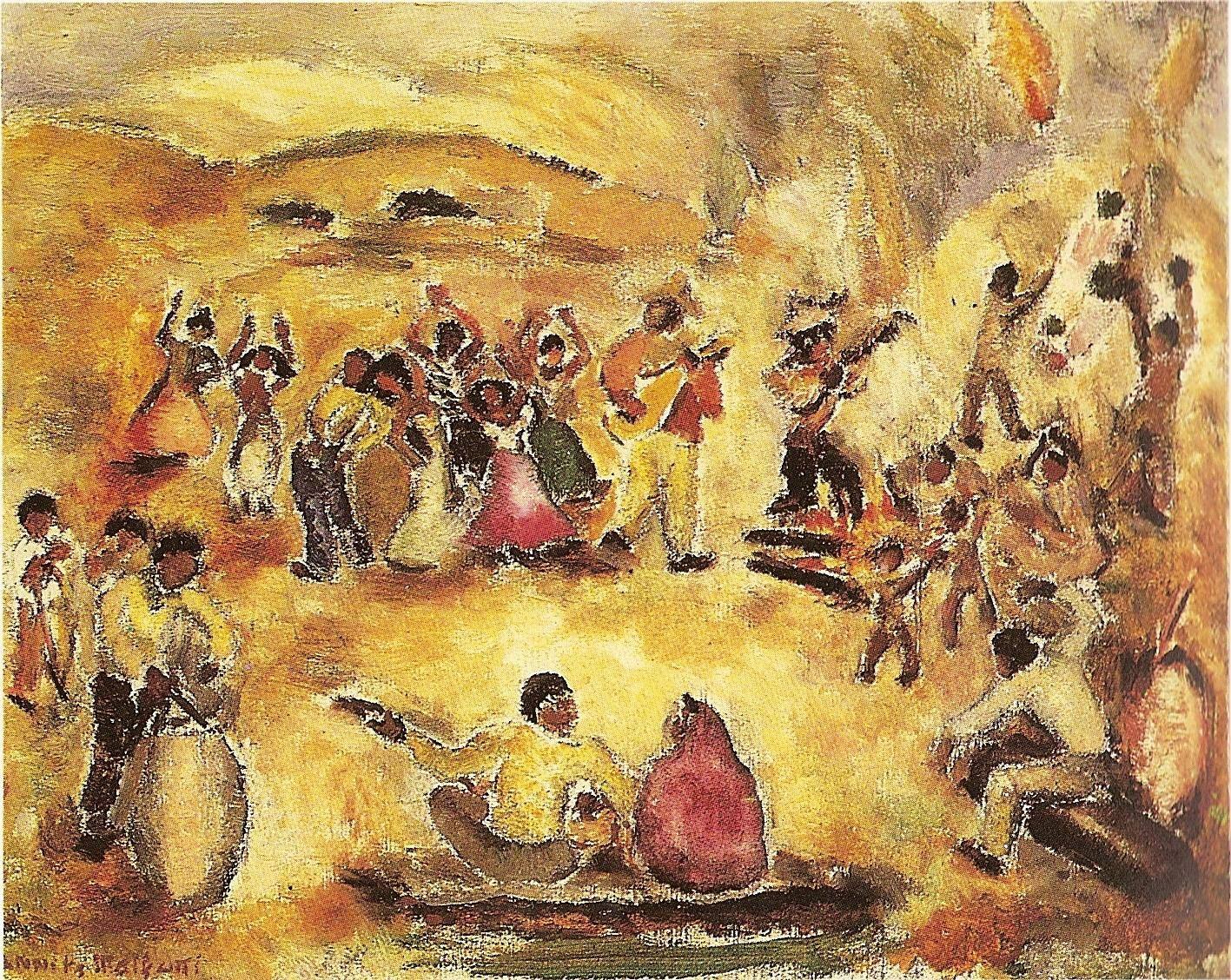 Anita Malfatti Samba 1945 Producao De Arte Anitta Malfatti